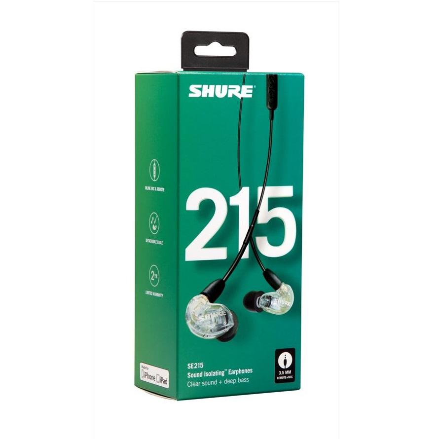SE215は新型のダイナミック型MicroDriverを搭載…